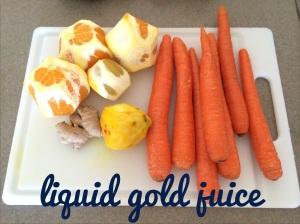 LIQUID GOLD juice