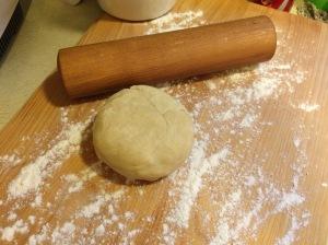 Buttery pie dough
